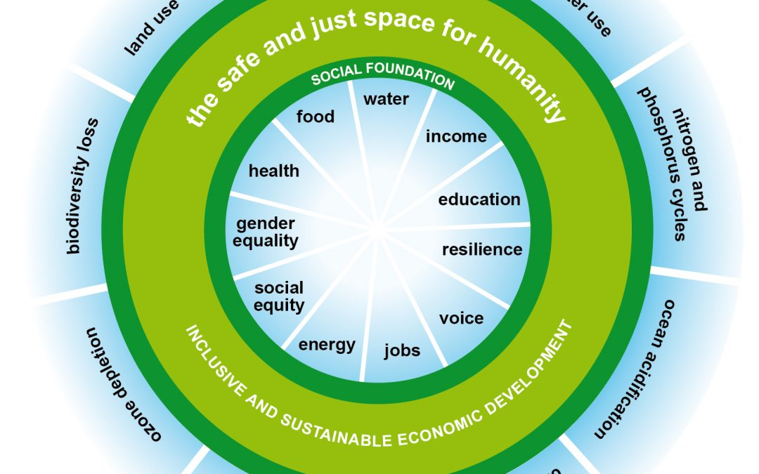 Planetary boundaries and the great transition