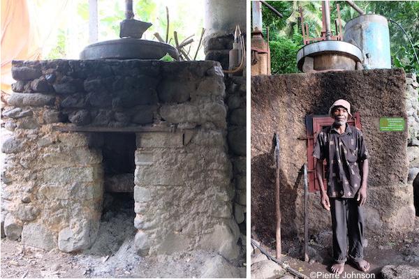Unités de distillation aux Comores